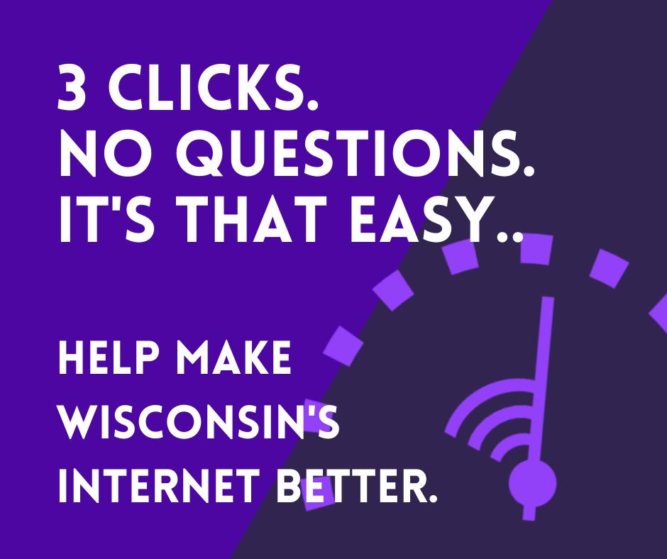 Help Us Improve Broadband Access in Wisconsin