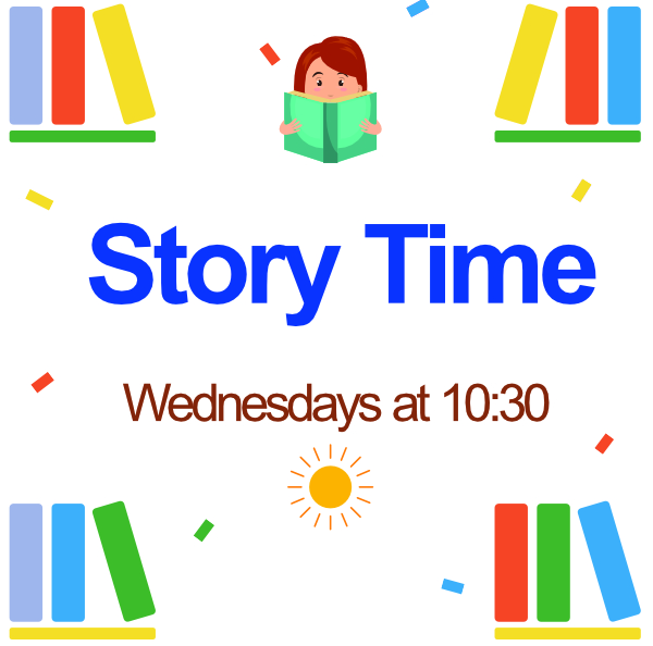 Loyal Virtual Story Time: Wednesdays on Facebook ato 10:30am